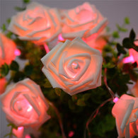 Rose Flower String Lights