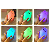 Color Changing Cat LED Night Light with Remote