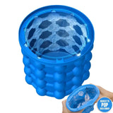 Ice Cube Maker Silicone Ice Bucket Saving Ice Cube Maker