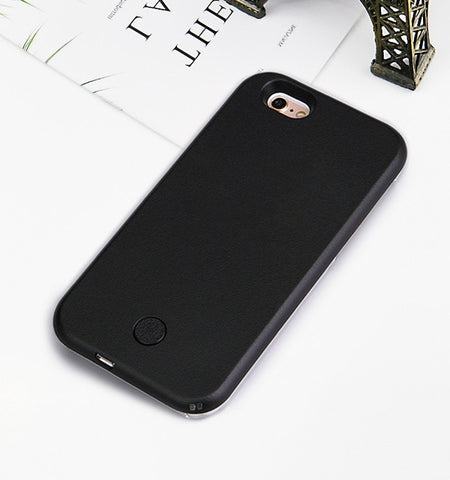 Luminous iPhone Selfie Light Case