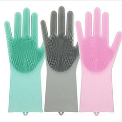 Scrubber Rubber Gloves