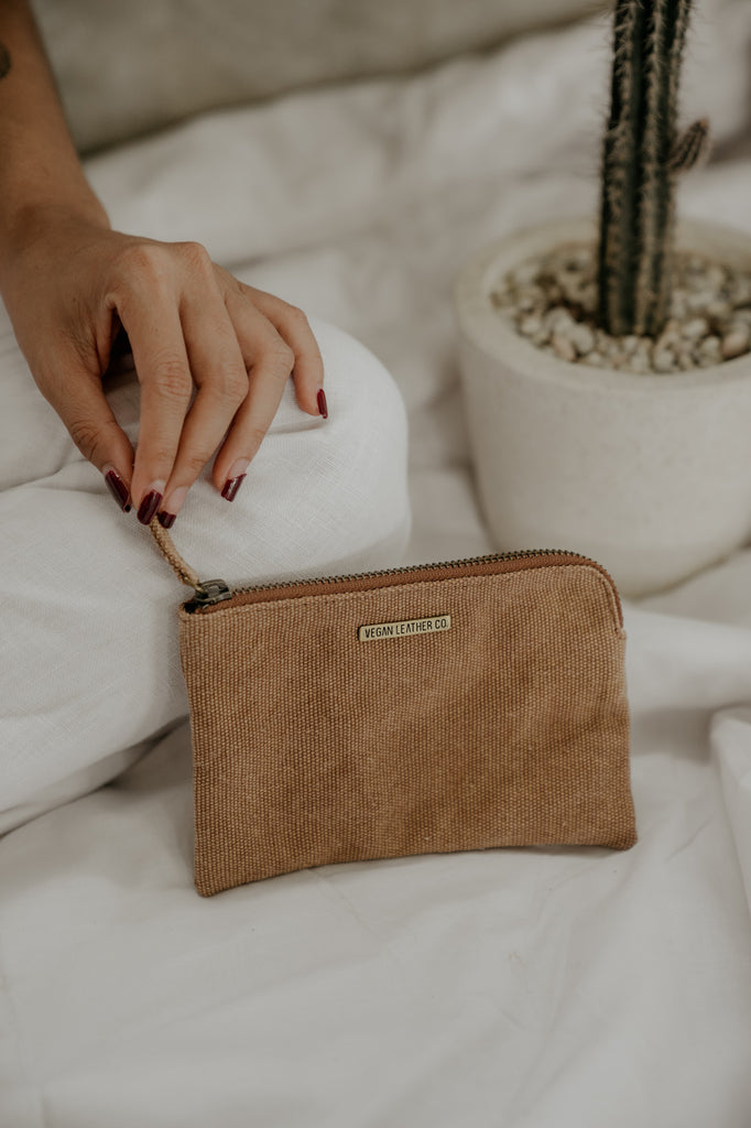Rust Canvas - Zip Purse