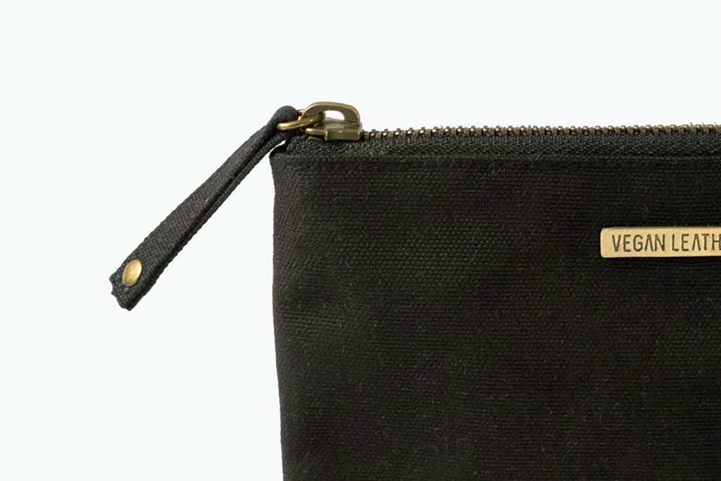Zip Purse  |  Midnight Black Canvas