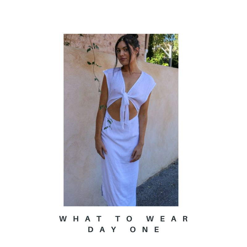 What to Wear in the Greek Islands: Day One