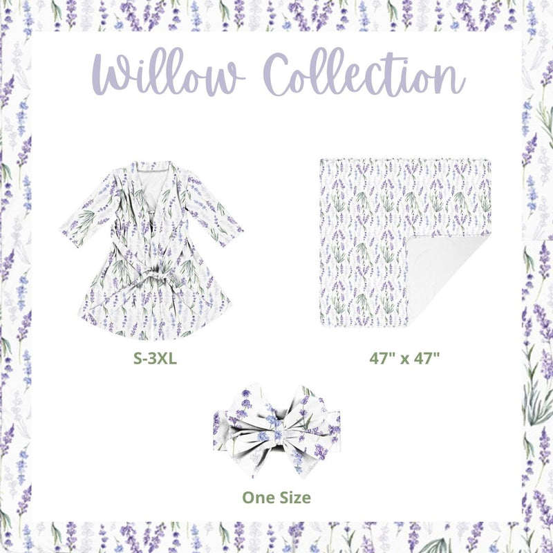 Willow + Green - Robe and Swaddle Set