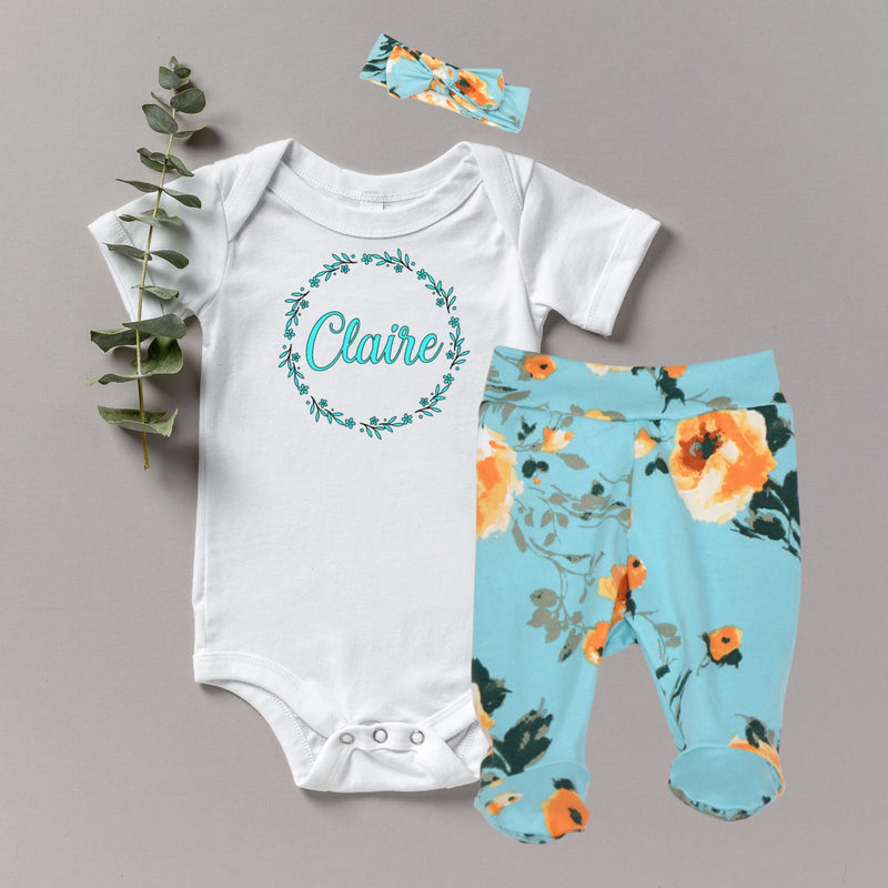 Claire - Baby Girl Coming Home Outfit