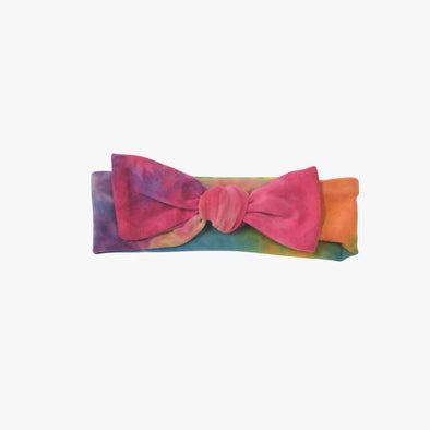 Rainbow Tie-Dye - Baby Girl Headband