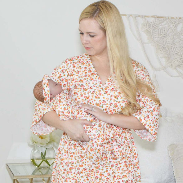 Sadie - Robe and Swaddle Set