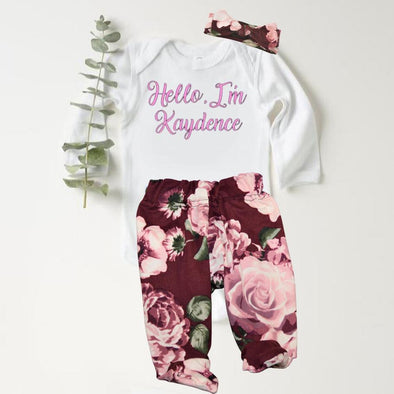 Scarlett - Baby Girl Coming Home Outfit