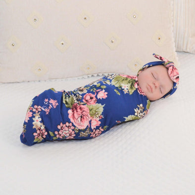 Caroline Swaddle Blanket Set - Kins & Kay