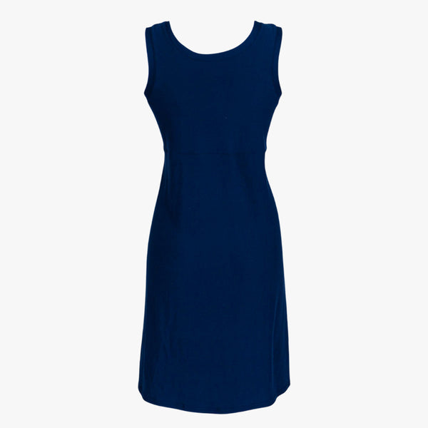 Navy Solid - Women's Nightgown