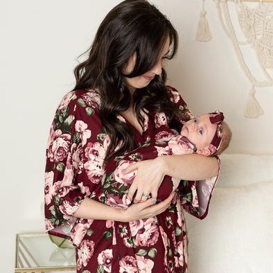 Scarlett - Robe and Swaddle Set