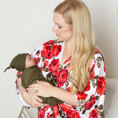Juliet & Hunter - Robe and Swaddle Set