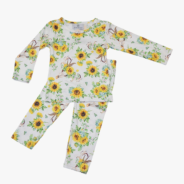 Sunflower - Girl's Pajamas