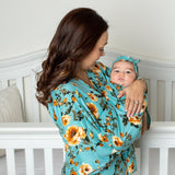 Claire - Robe and Swaddle Set - Kins & Kay