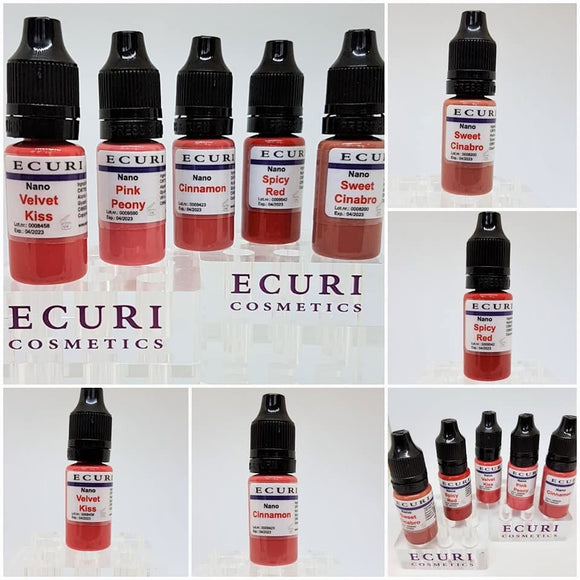 Nano LIP Pigments Ecuri