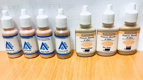 Areola & Skin Camouflage Pigments
