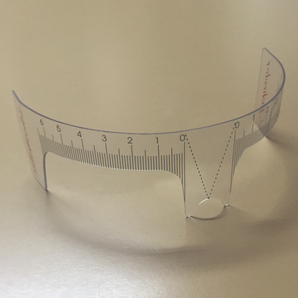 Measuring Ruler with Nose support **SPECIAL**