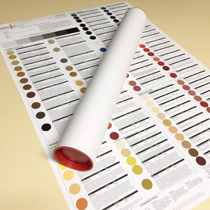 Poster A2 CIC Chart NEW Double sided includes Shipping with pigment order