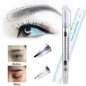 Skin Marking Pen Double Head & Ruler (Sterile pack)