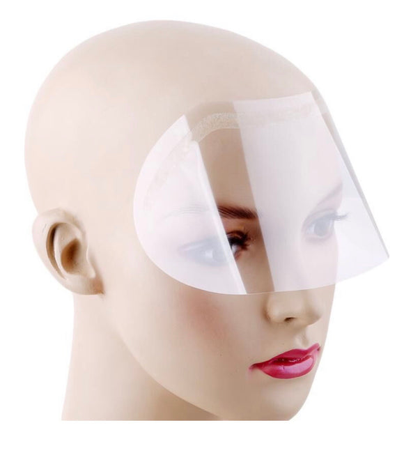 Eyebrow and Eye Water Protective shields Visors For Aftercare