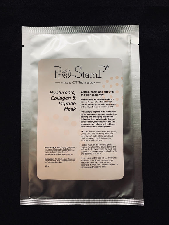 Pro-Stamp HA & Collagen Peptide Facial Mask