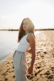 hemp pants sustainable australian made fashion linen loungewear