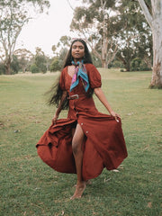 hemp dress sustainable australian fashion