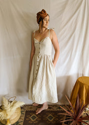 Golden Wattle Sundress