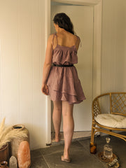 Hemp boho dress Australian made sustainable fashion