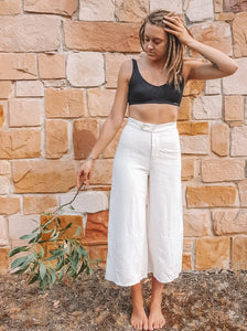 Flowering Gum Culottes | 100% Hemp | Natural Fibre