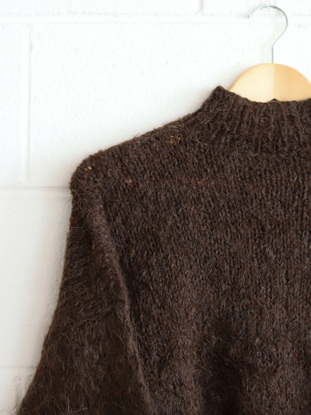 ethical alpaca knitwear earthy colour