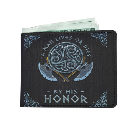 Norse Viking - Death before Dishonor - Wallet