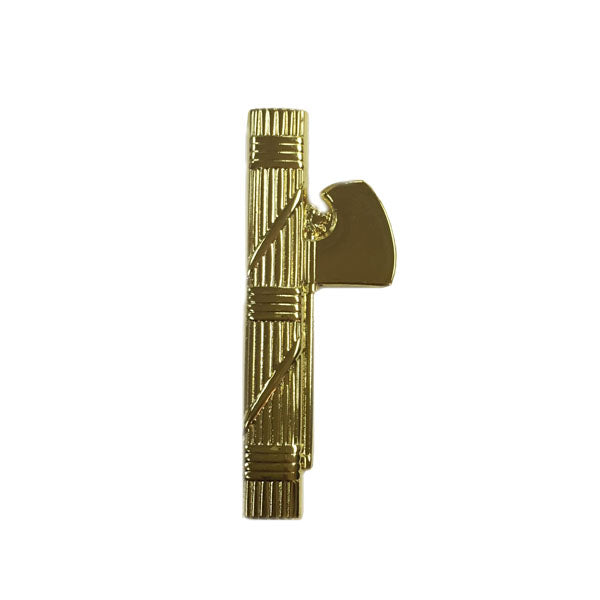 Italian Fascist/Roman Fasces (in gold color) pin.