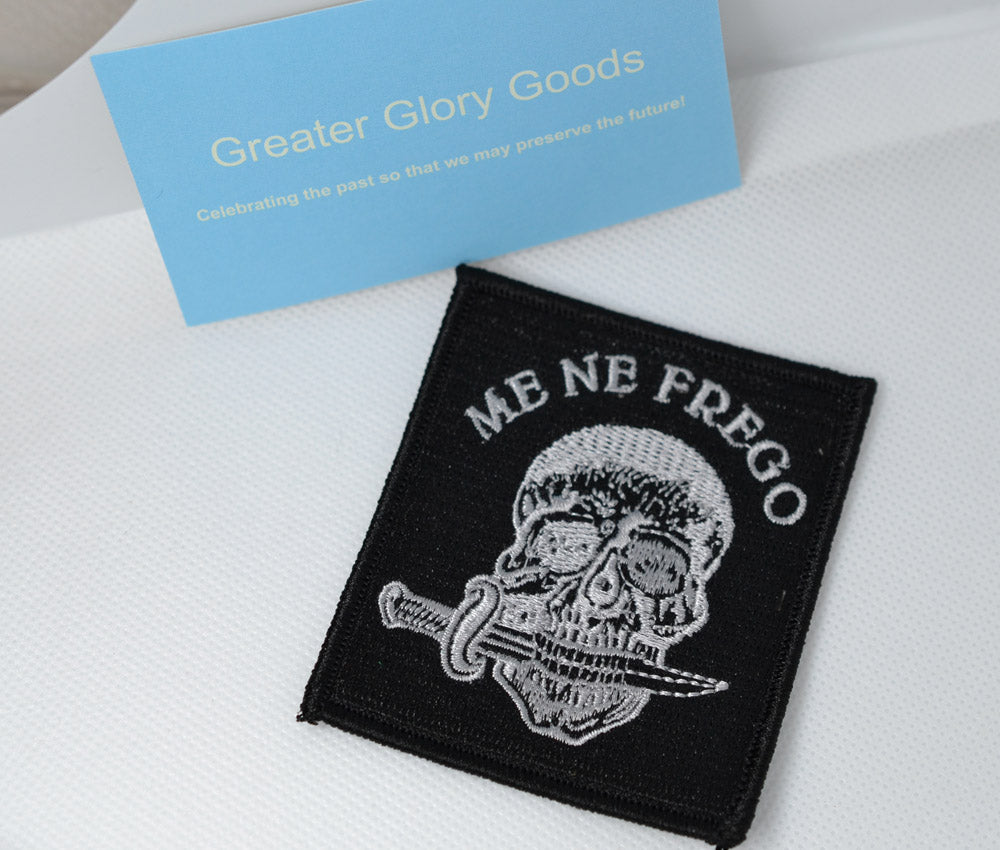 "GGG Business card + ""Me Ne Frego"" Patch"