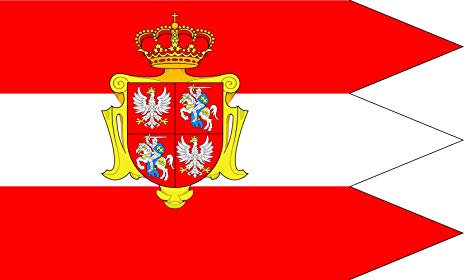 Polish-Lithuanian Commonwealth Royal Flag of 1587
