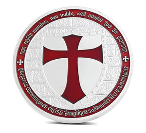 Commemorative Knights of the Templar Red Cross Coin