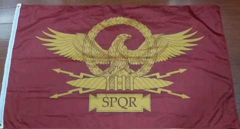 Roman Empire/Roman Senate (SPQR) Flag