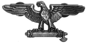Roman/Italian Fascist Eagle with Fasces Pin, Brooch, Broach.