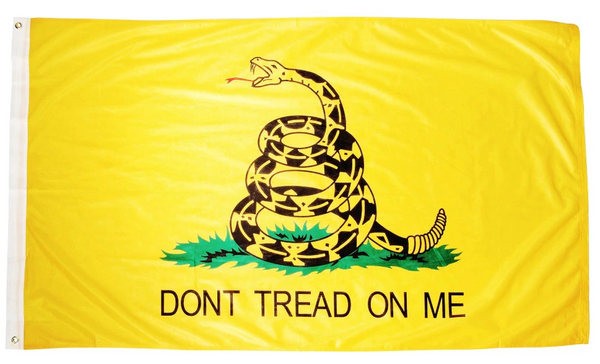 "American Revolutionary ""Don't Tread on Me"" 3x5' Gadsden Flag"