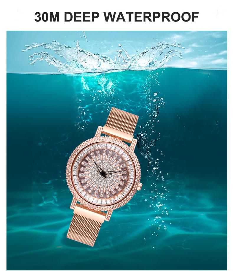 Gypsophila Waterproof Quartz Women Watch