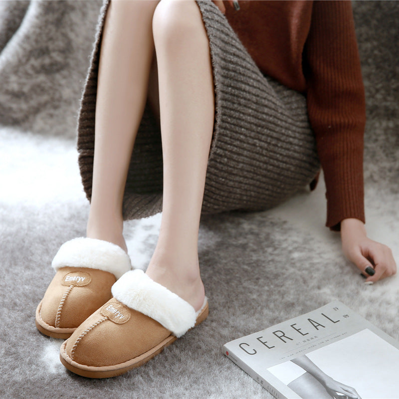Fleece Memory Foam Slippers