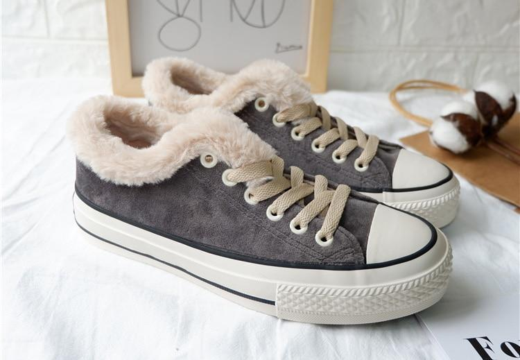 Warm Fur Shoes