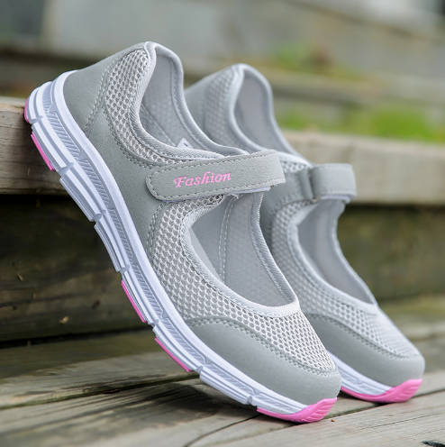 Comfy Mesh Velcro Shoes