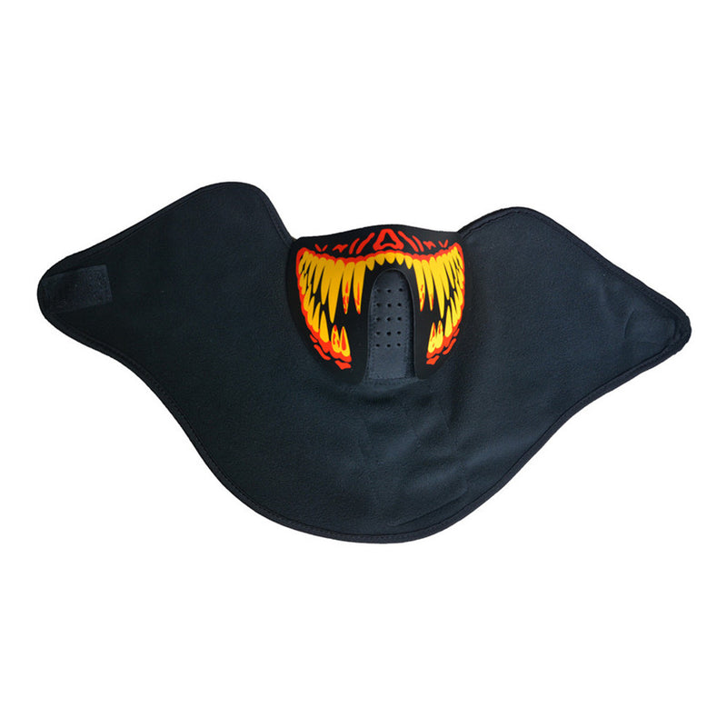 Blood Fangs LED Rave Mask