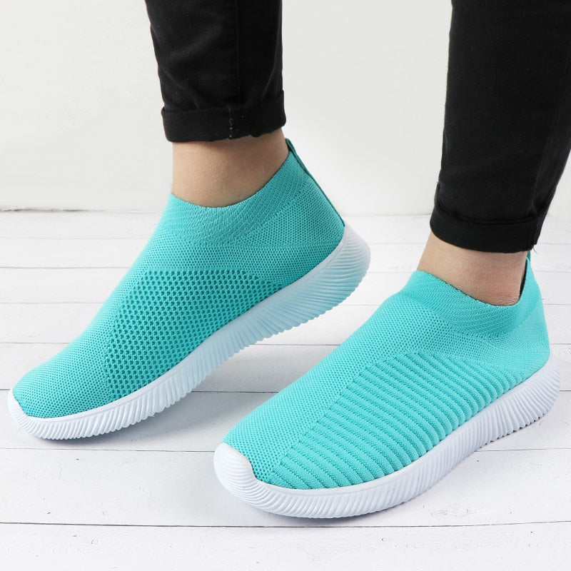 Knitted Slip-On Shoes