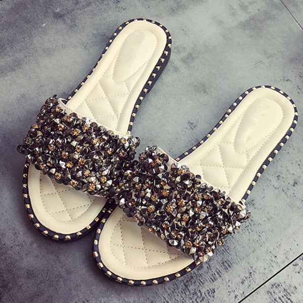 Ultra Plush Quartz Sandals