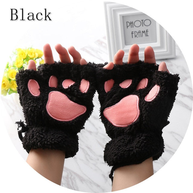 Cute Puppy Paw Gloves