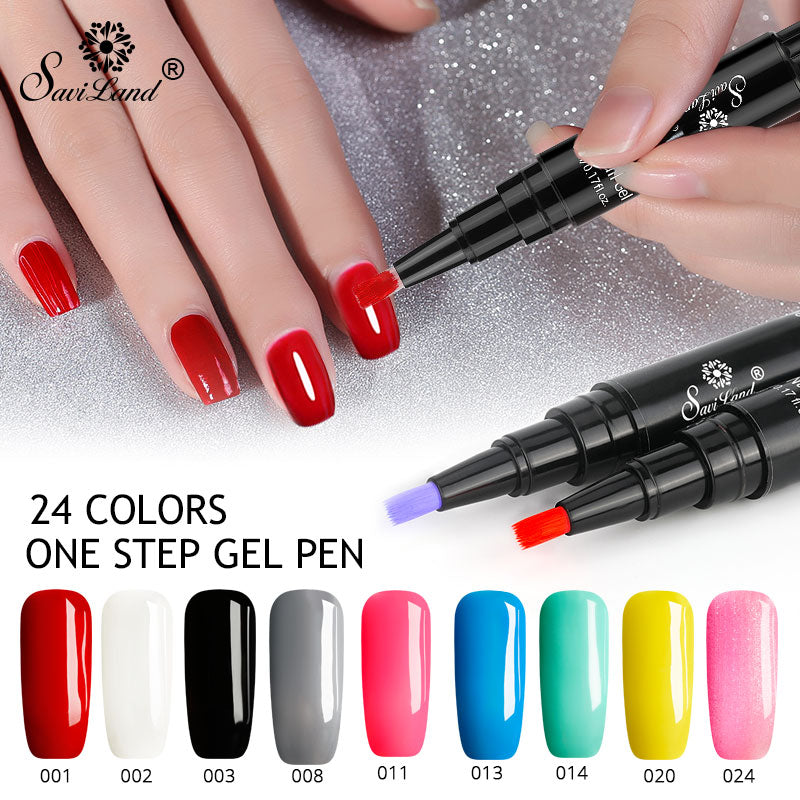 3 In One Gel Nail Polish Pen