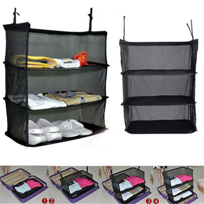 3 Layers Foldable Wardrobe